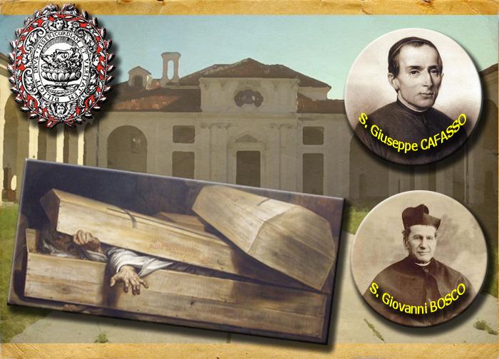 Torino impiccato resuscitato Sna GIovanni Bosco San Cafasse