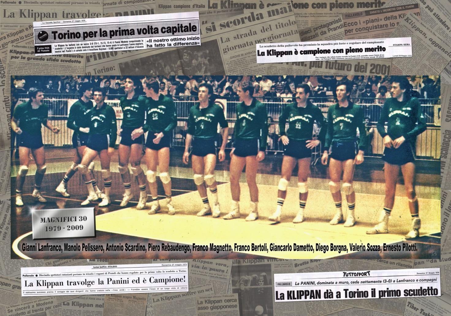 La Klippan Cus Torino, prima squadra italiana a vincere in Europa