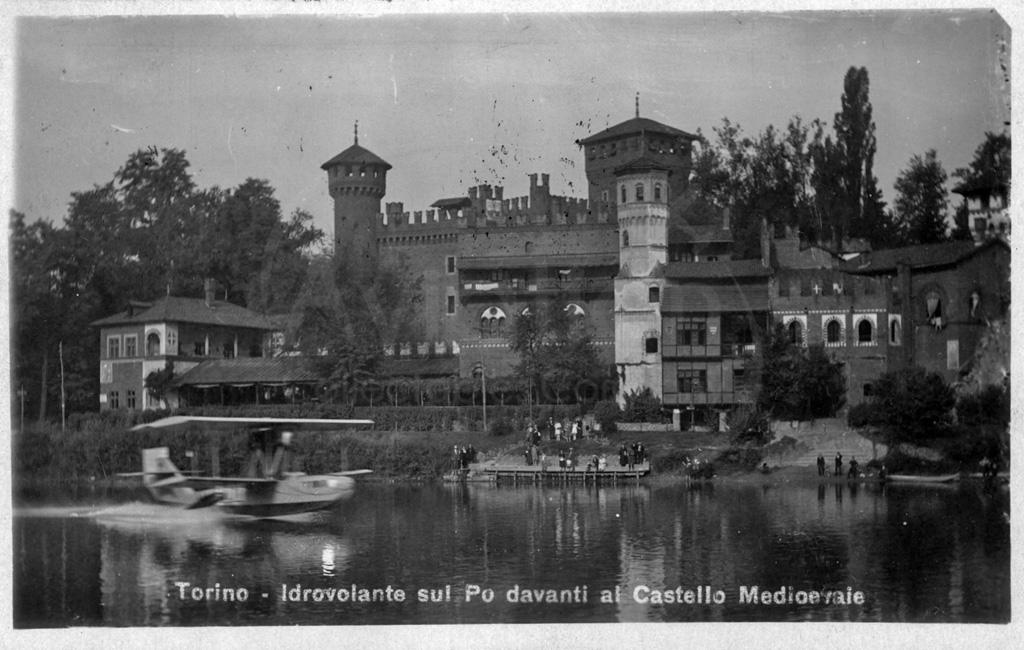 90 anni fa la prima linea aerea commerciale in Italia, la Torino - Trieste foto federico-Anselmino