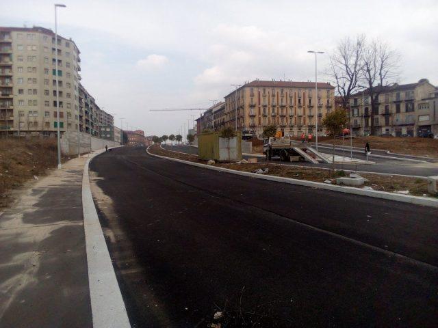 Torino, i lavori in corso Venezia procedono: aperto un nuovo tratto