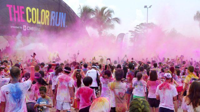 Torna la Color Run 2019 a Torino, la corsa più colorata del mondo