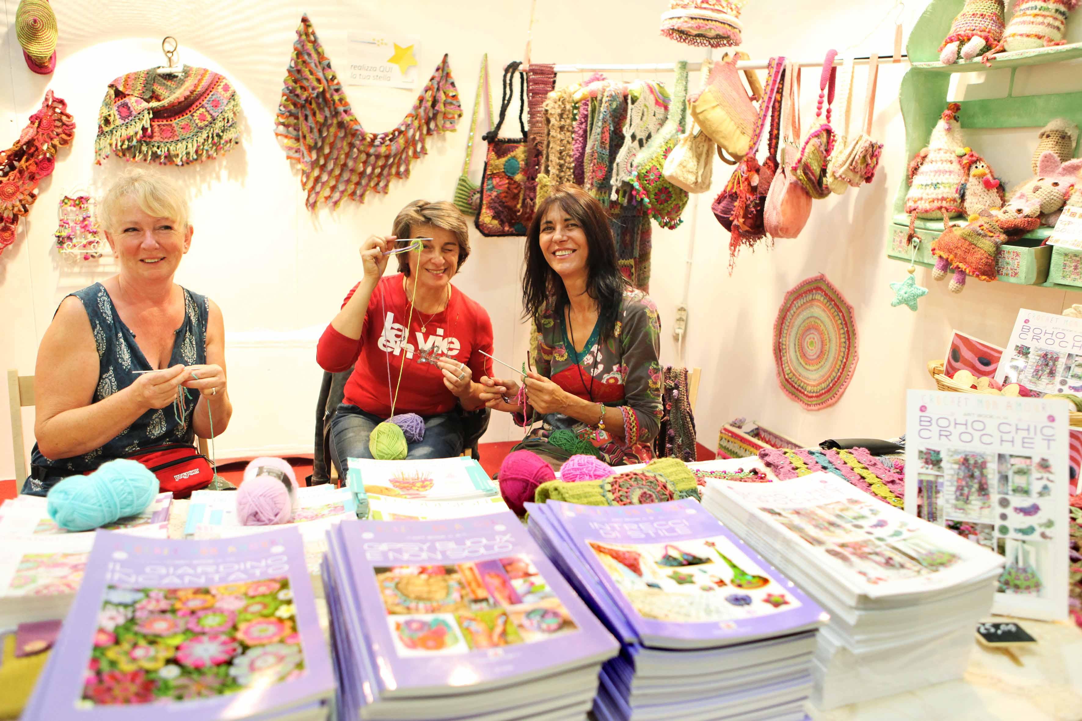 Dal 19 al 22 settembre a Lingotto Fiere di Torino la XX edizione del Salone della creatività: attesi grandi ospiti e numerosi esperti delle arti manuali creative