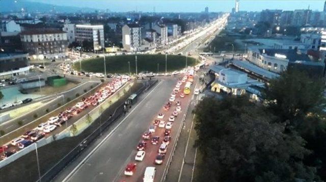 Il traffico in piazza Baldissera gestito con il satellite dell'Agenzia Spaziale Europea