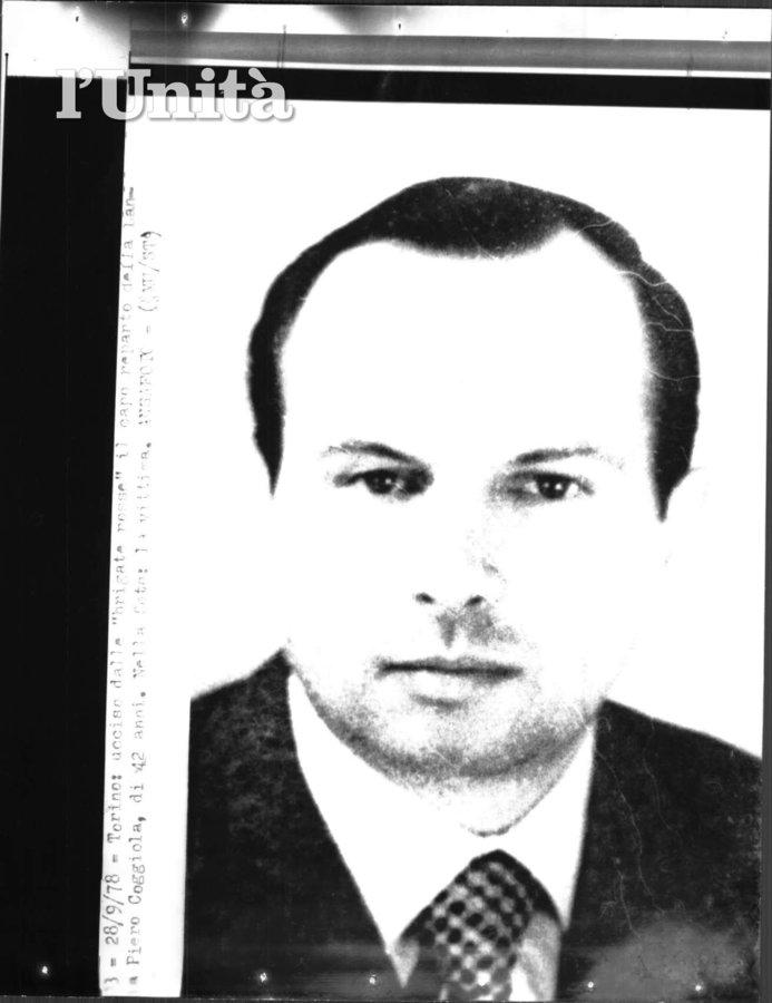 33 anni fa come oggi le BR uccidevano Piero Coggiola