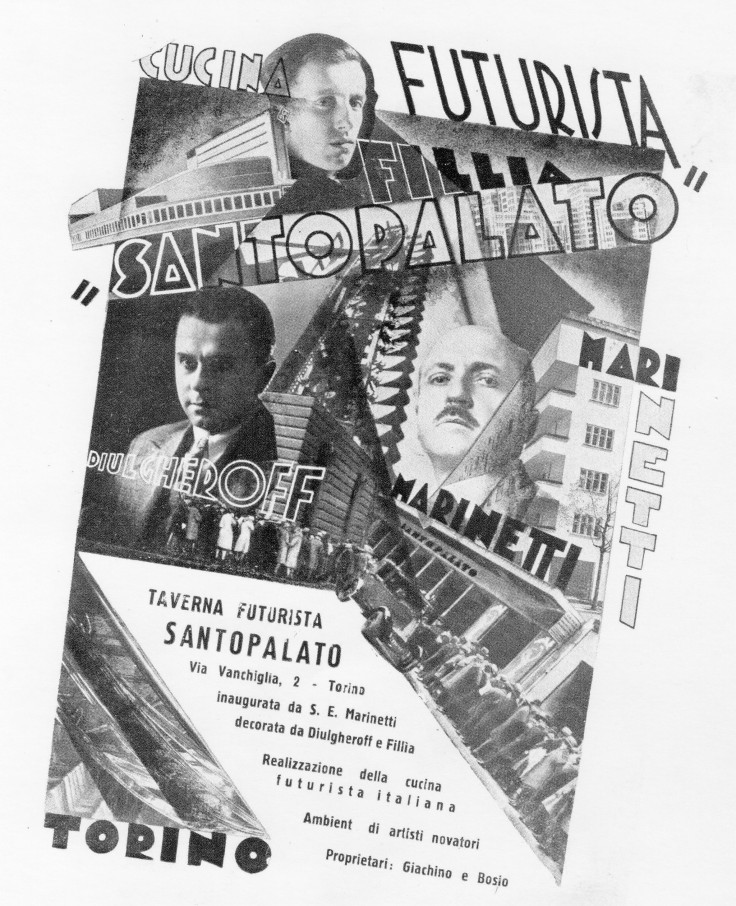 Santo Palato Ristorante Futurista TorinoSantoPalato: in via Vanchiglia a Torino il primo ristorante Futurista d'Italia