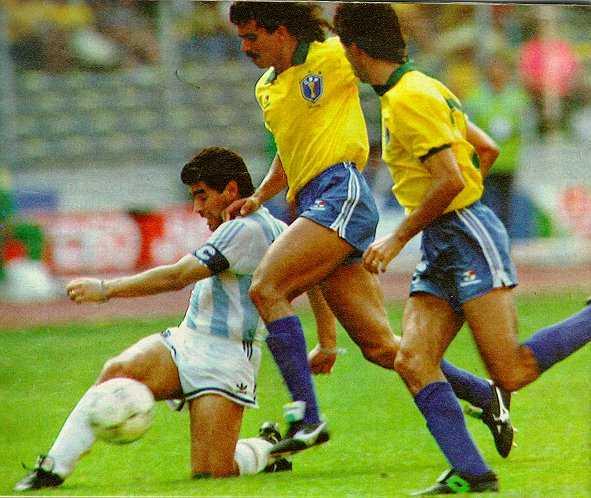 Italia '90: a Torino Maradona contro Careca
