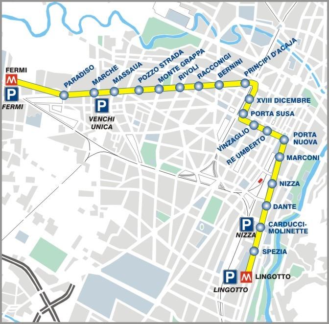 Una nuova linea metro a torino mole24 - Pullman torino porta nuova caselle orari ...