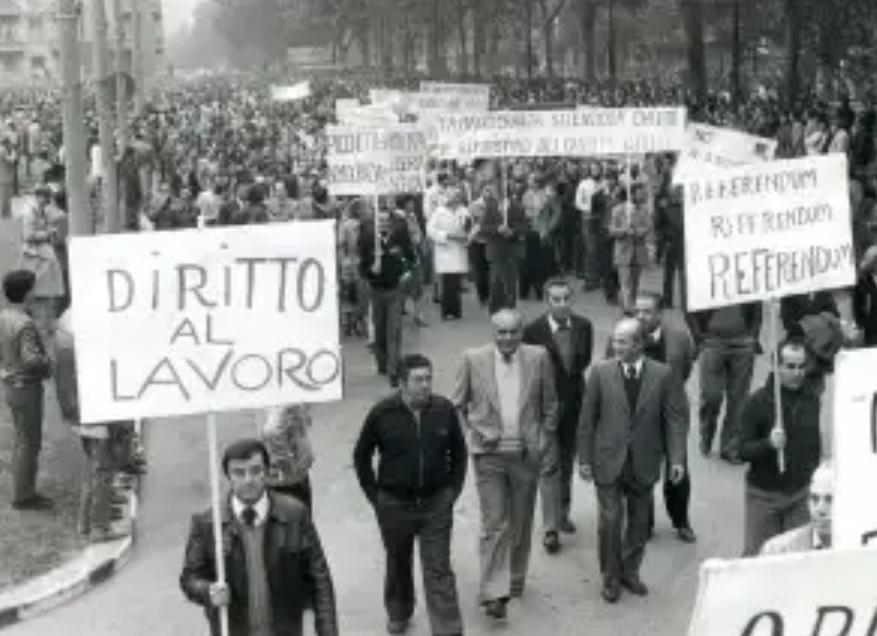 Photo of 14 ottobre 1980: la marcia dei 40.000 colletti Bianchi