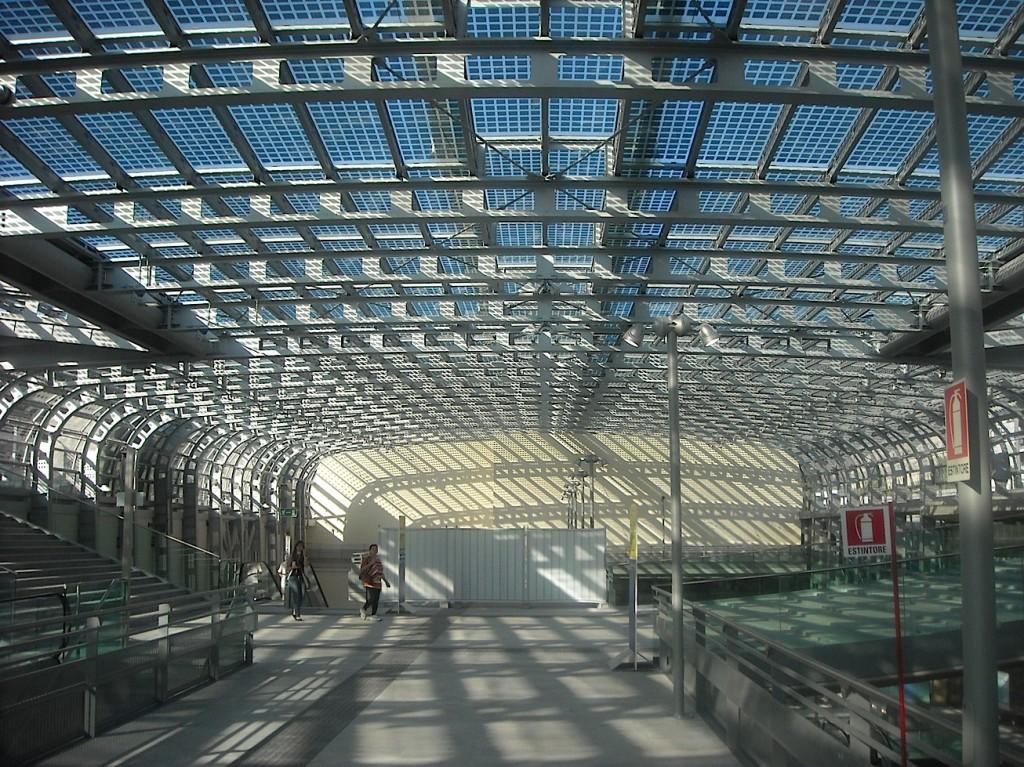 La nuova stazione ferroviaria di Porta Susa  di Torino