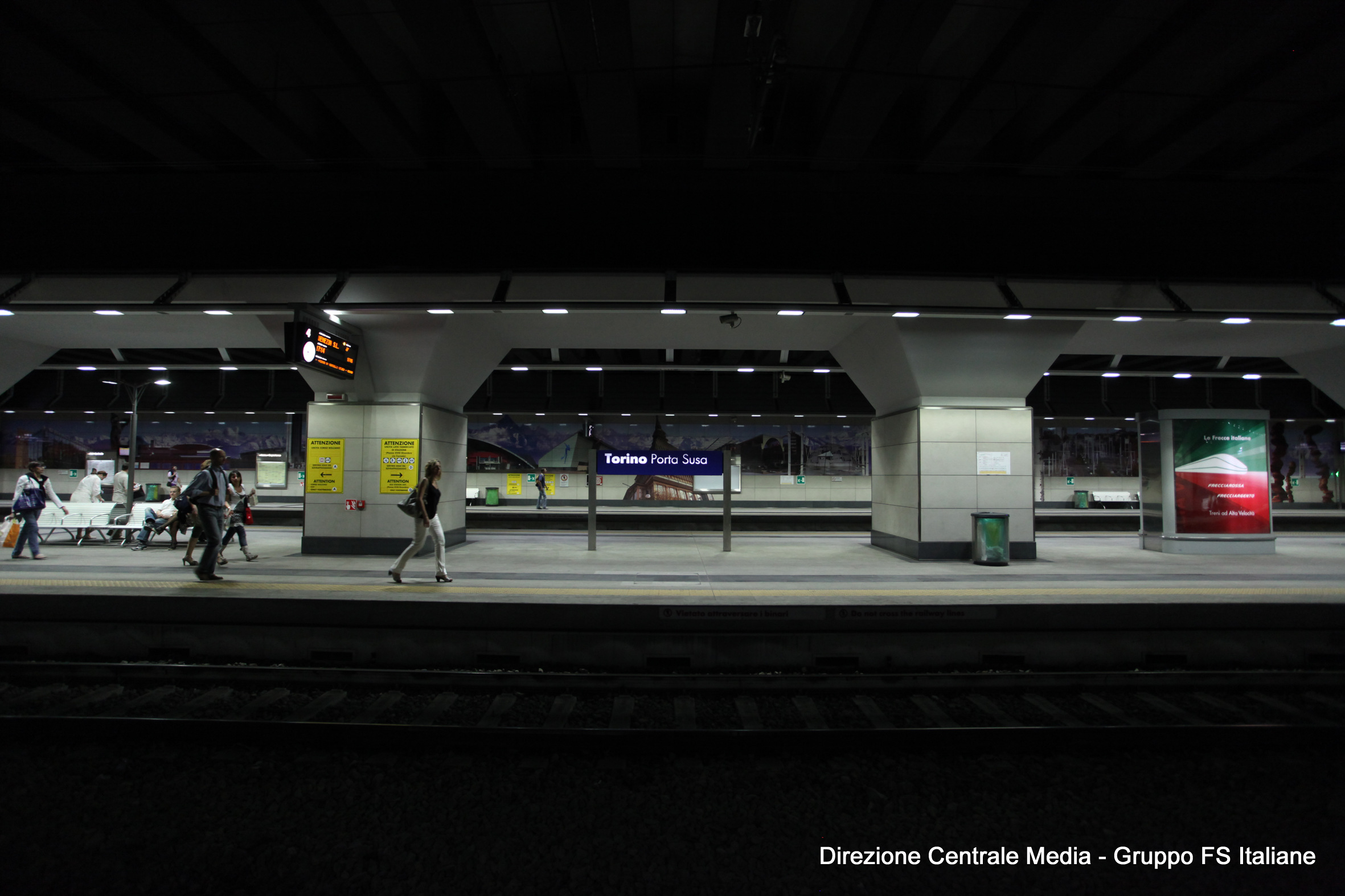 La nuova porta susa collega torino dritto in europa mole24 - Orari treni milano torino porta susa ...