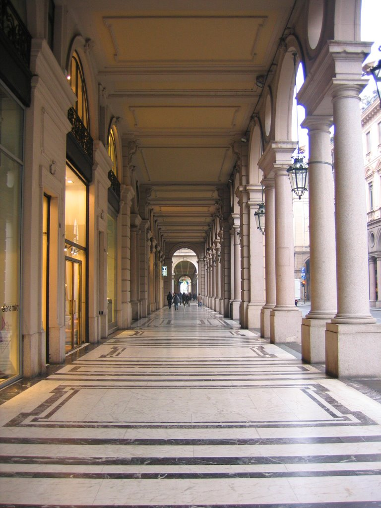 Torino ed i suoi 16 km di portici