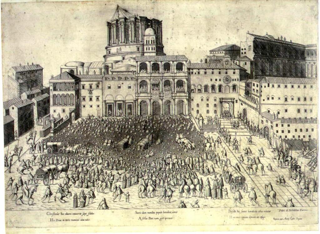 """""""Torino on the move ... barocca"""" Pianta città di Torino 1600"""