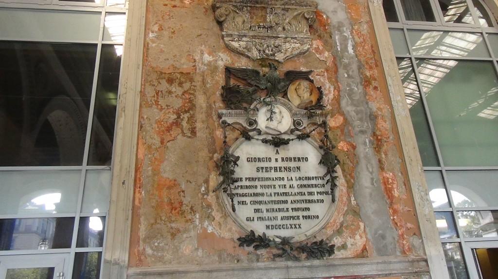 Torino: la lapide dimenticata ai fratelli Stephenson