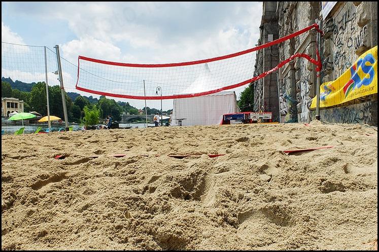 Torino ed il beach volley: un amore che sta fiorendo