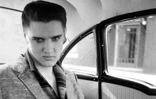 Elvis Presley immortalato da Galella 1956