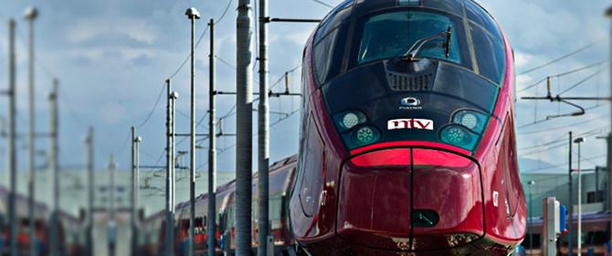 Italo treno alta velocità Torino