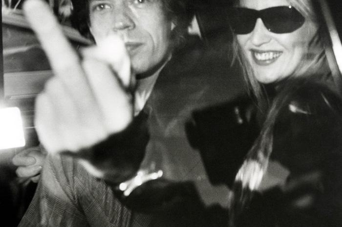 Mich Jagger immortalato dal Ron Galella