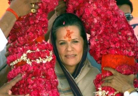 Sonia leader indiscussa del Partito del National Congress