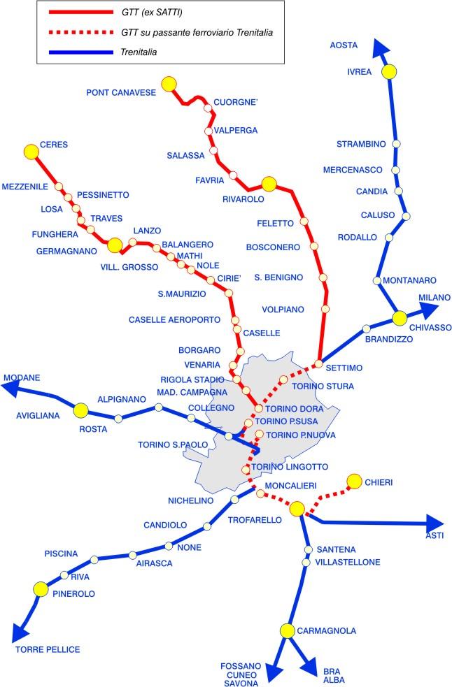 Treni, arrivano le ferrovie metropolitane torinesi