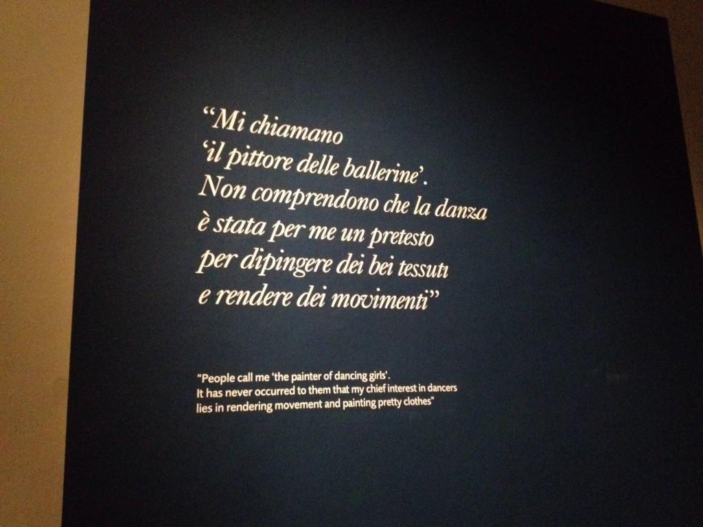 Mostra Degas Torino