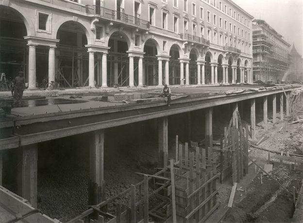 Torino Il risanamento di via Roma