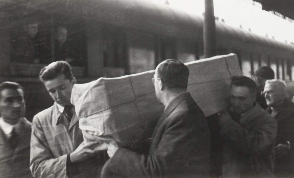 Ritorno della Sindone a Torino fine seconda guerra mondiale