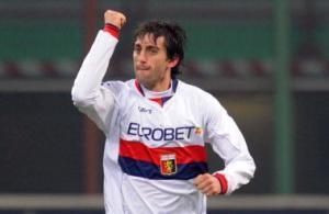 Diego Milito Toro Genoa 2008