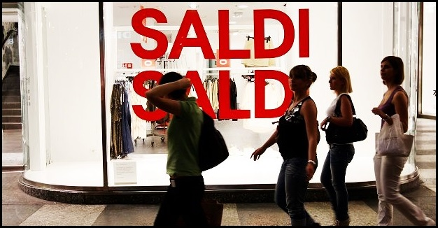 Torino: i saldi non decollano