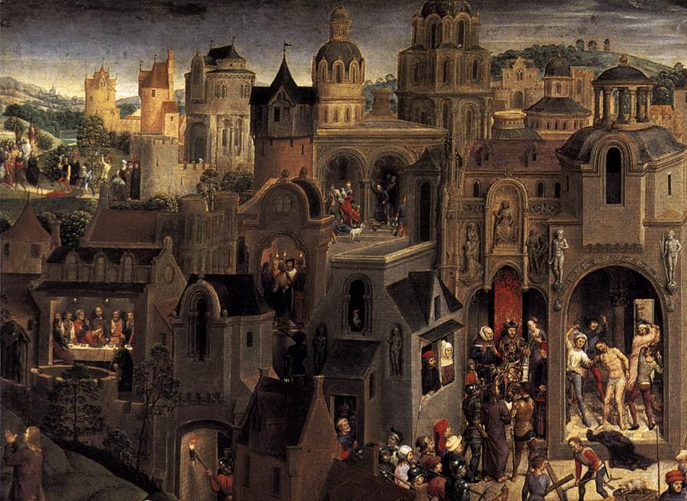 La passione di Torino Hans Memling