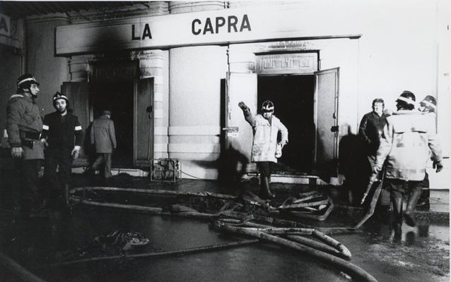 Cinema Statuto: una lapide ricorda l'inferno di 31 anni Torino 13 febbraio 1983