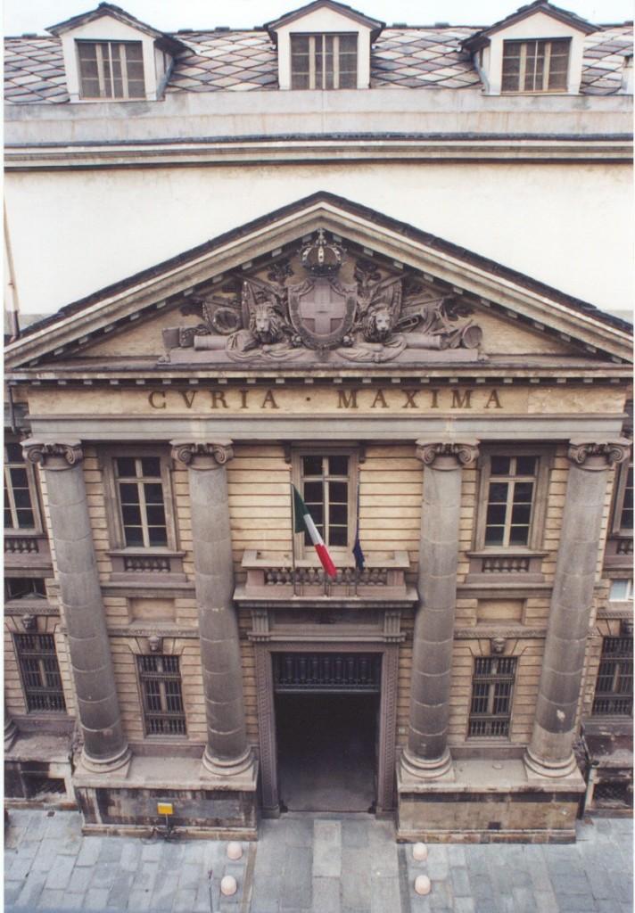 Palazzo di Giustizia o Palazzo della Curia Maxima di Torino