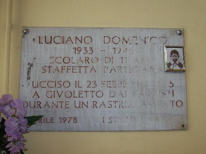 Photo of Luciano Domenico, il partigiano caduto a 11 anni per la libertà