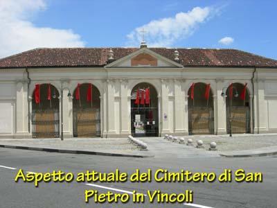 Cimitero San Pietro in vicoli Torino