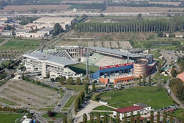 stadio Granillo Reggiana primo stadio privato d'Italia