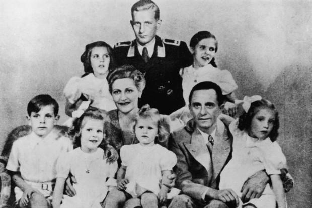 la famiglia Goebbels Harald Quandt
