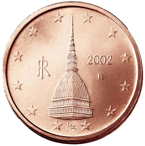 Battuta a prezzo da record la moneta da 1 centesimo con la Mole