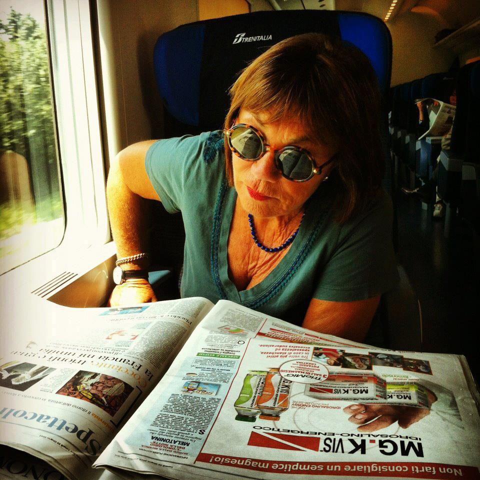 Marinella Venegoni (foto dalla sua Fan Page Facebook)