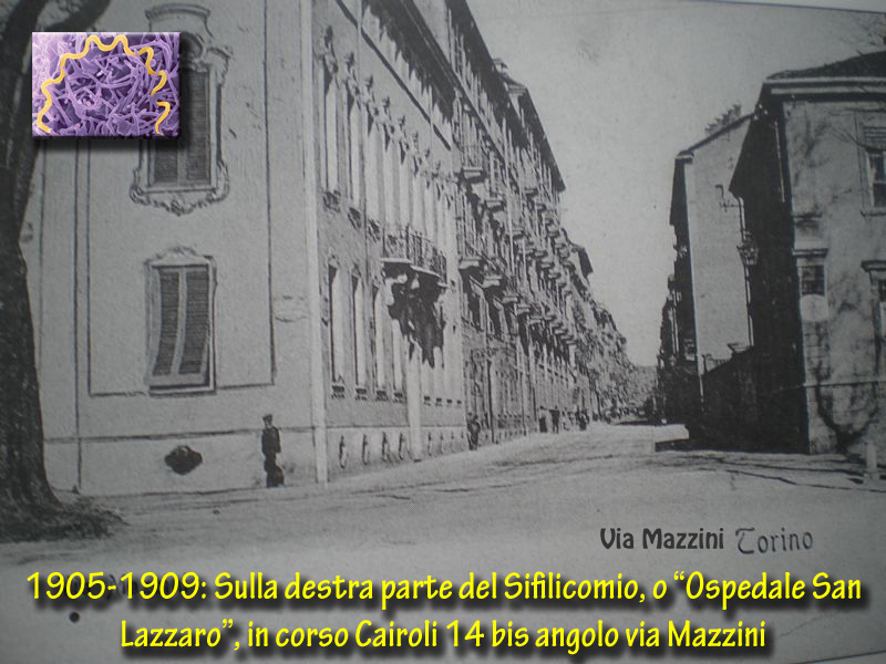 Sifilide: i luoghi della sua diffusione nella storia di Torino