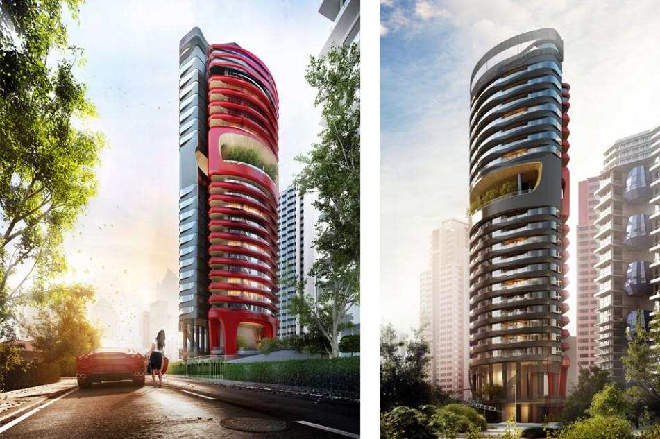 Gli studi di design di Torre Ferra (dal sito Pininfarina)