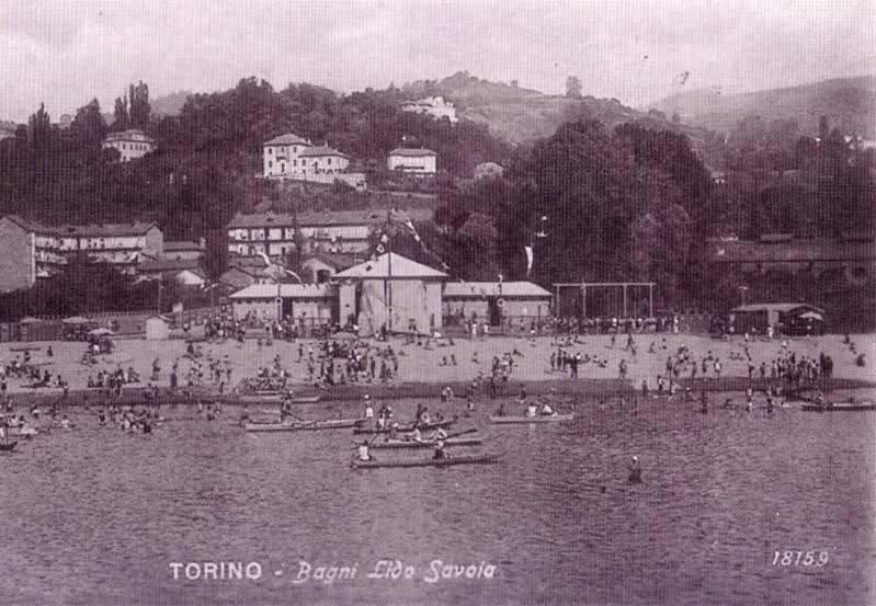 Spiaggia, quando anche a Torino era possibile andarci.