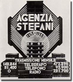 Agenzia Stefani: quando le news arrivavano da Torino