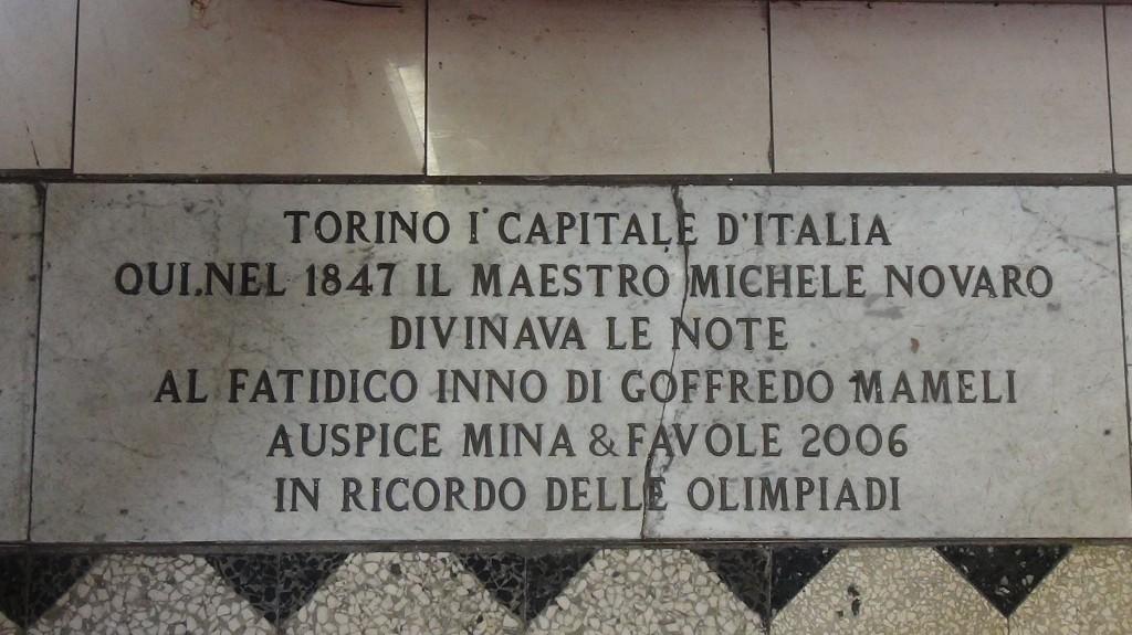 Inno di Mameli: a Torino i suoi natali, non a Genova