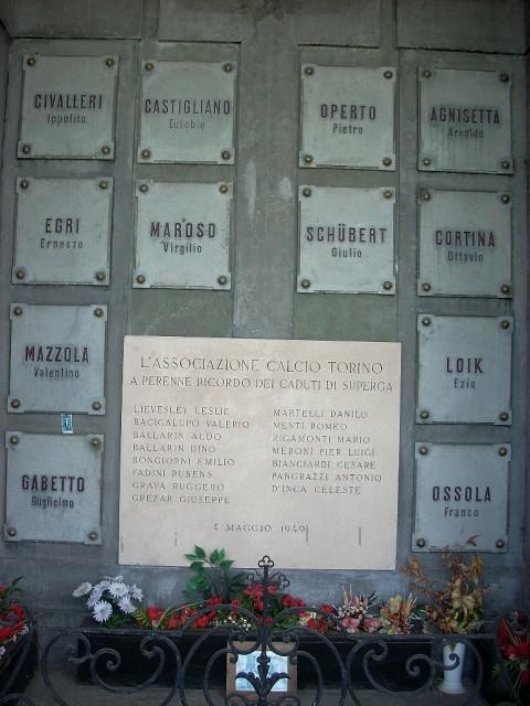 Personaggi famosi. chi sono quelli che riposano a Torino?