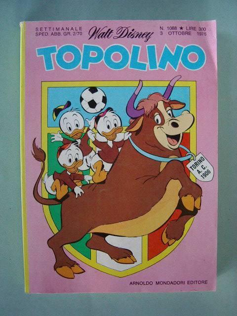 Arriva TopolinoGol: Juve e Toro in copertina