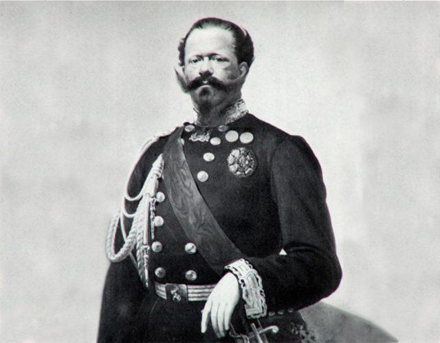 Vittorio Emanuele II, nato oggi, ancora parte di Torino