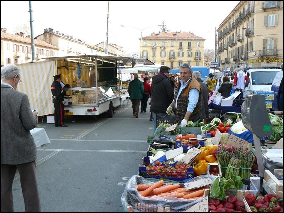 I mercati torinesi censiti dal Poli