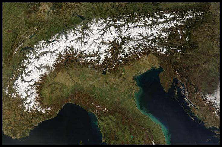 Altitudine Torino, una media ponderata tra tre diversi luoghi