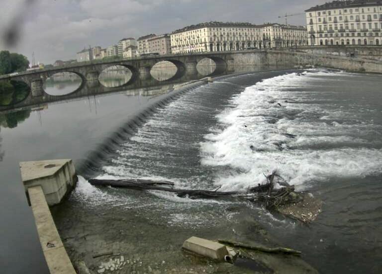 Altitudine a Torino, una media ponderata tra tre diversi luoghi
