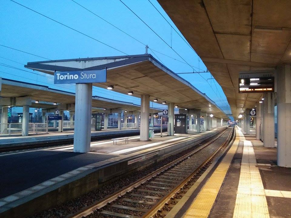 Degrado della stazione Torino Stura