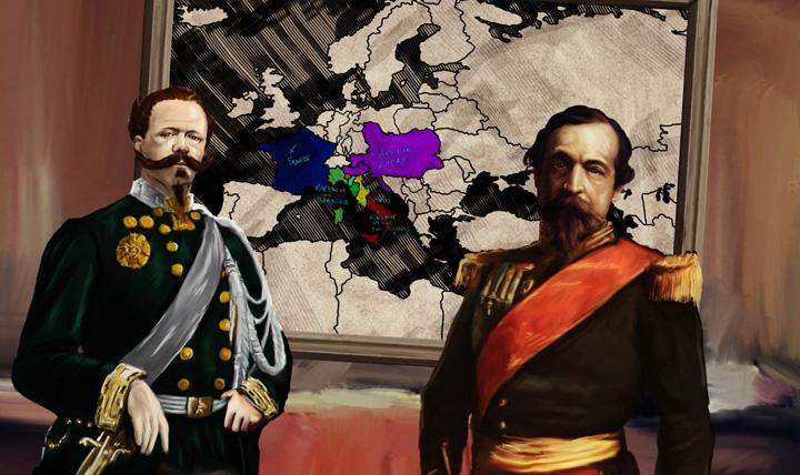 Vittorio Emanuele II e Napoleone III